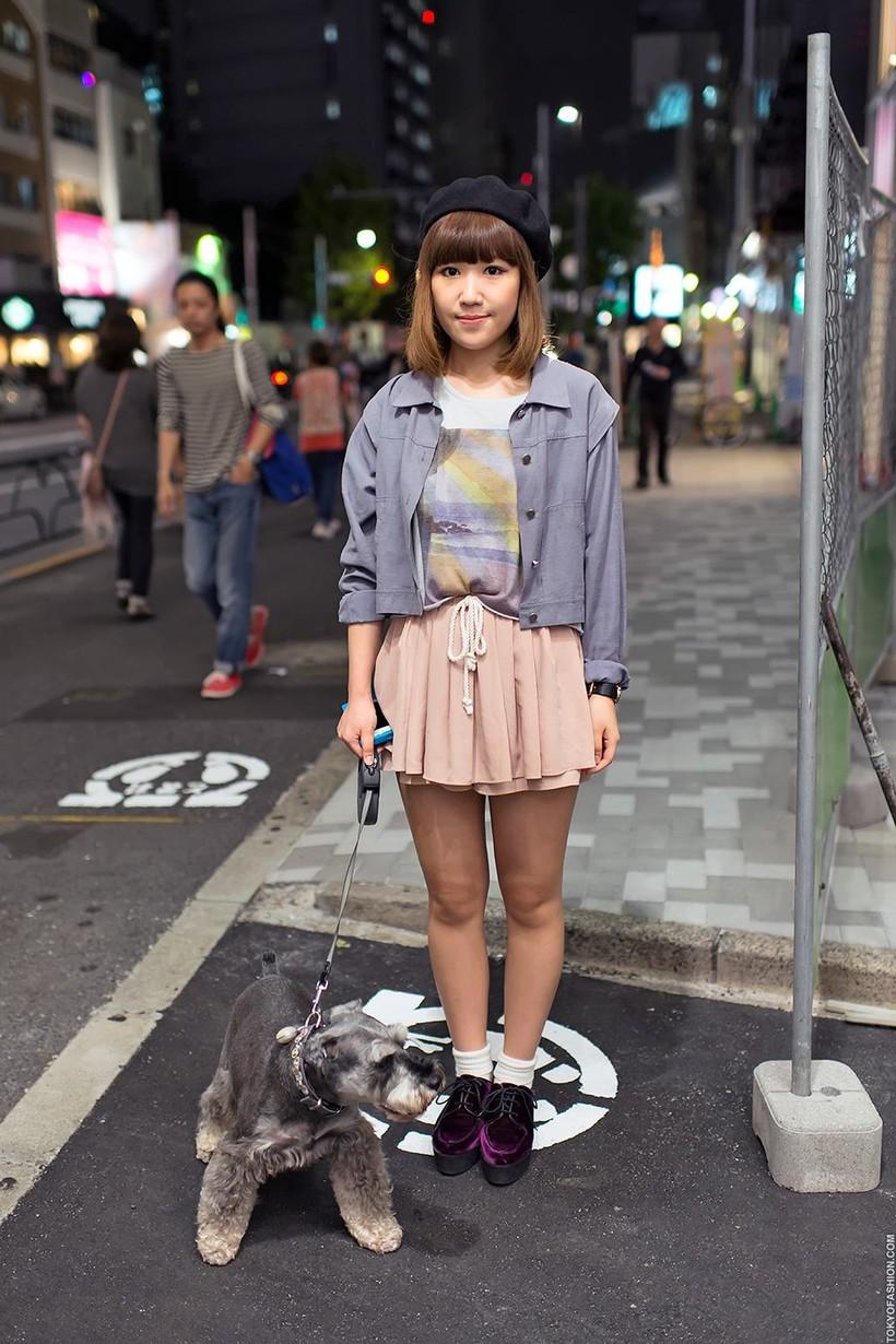 20 невероятных снимках об уличной моде в Японии