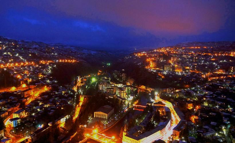 Чиатура — исчезающий город в Грузии