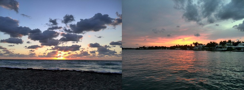 Sunrise & Sunset