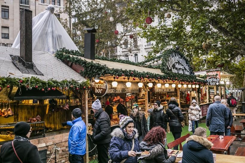Ярмарка в Будапеште