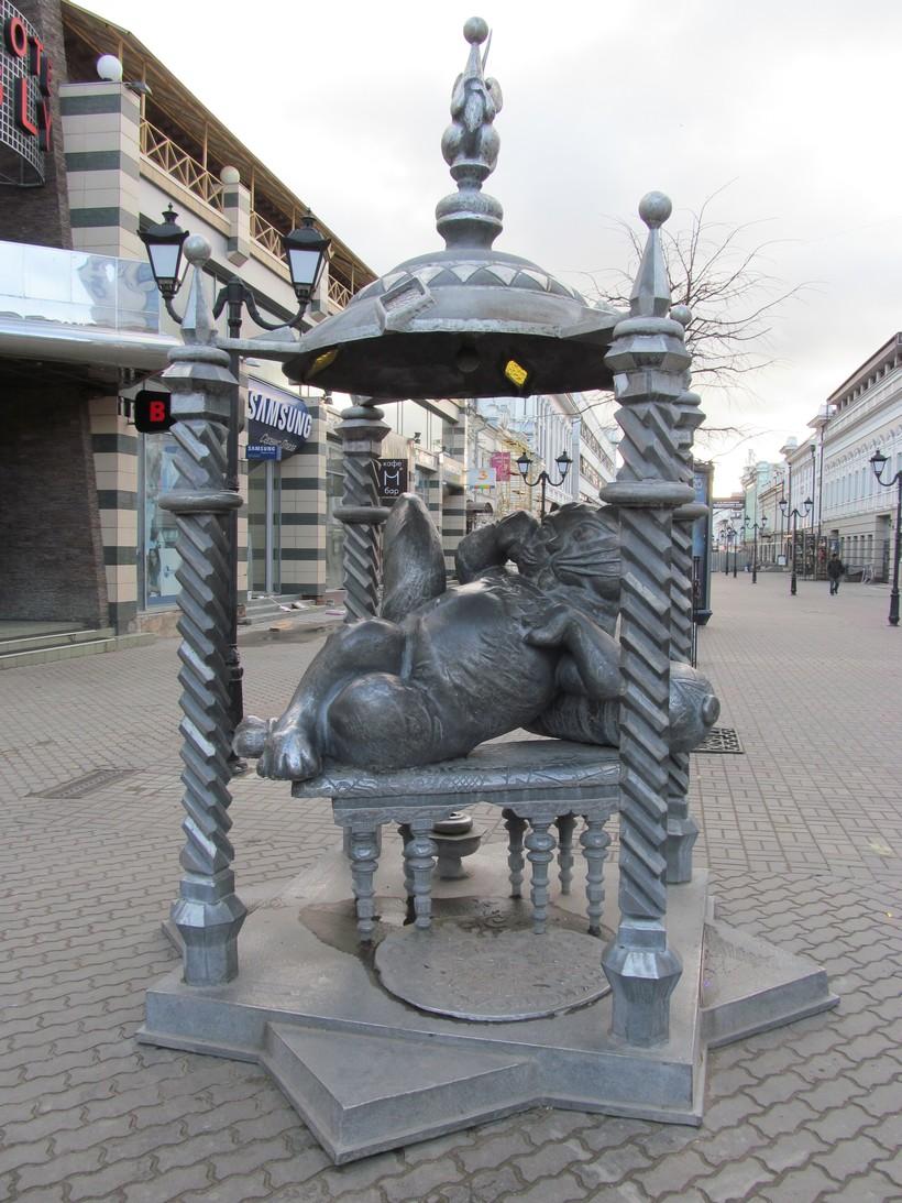 Казанский кот на Бауманке