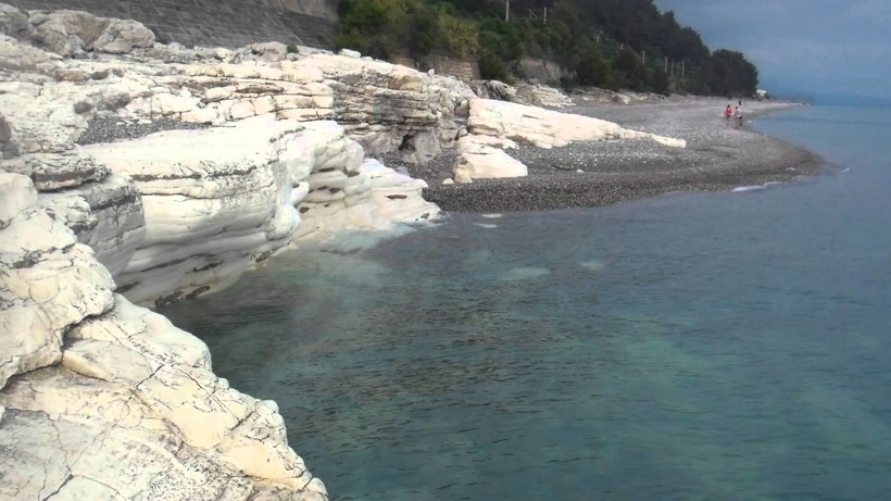 Белые скалы, Цандрипш