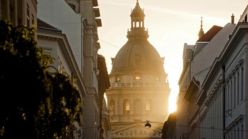 Будапешт в лучах заката