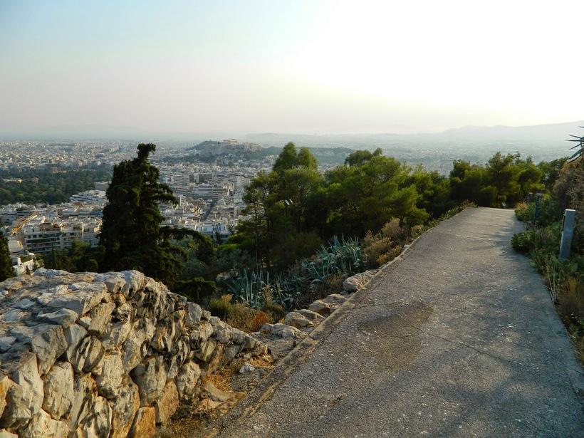 Холм Ликабеттус, Афины