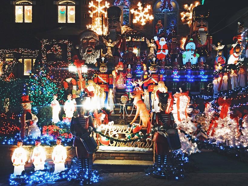 Обычный дом в районе Дайкер хейтс, Нью-Йорк