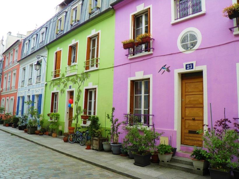 Rue Cremieuxс, Париж, апрель 2017