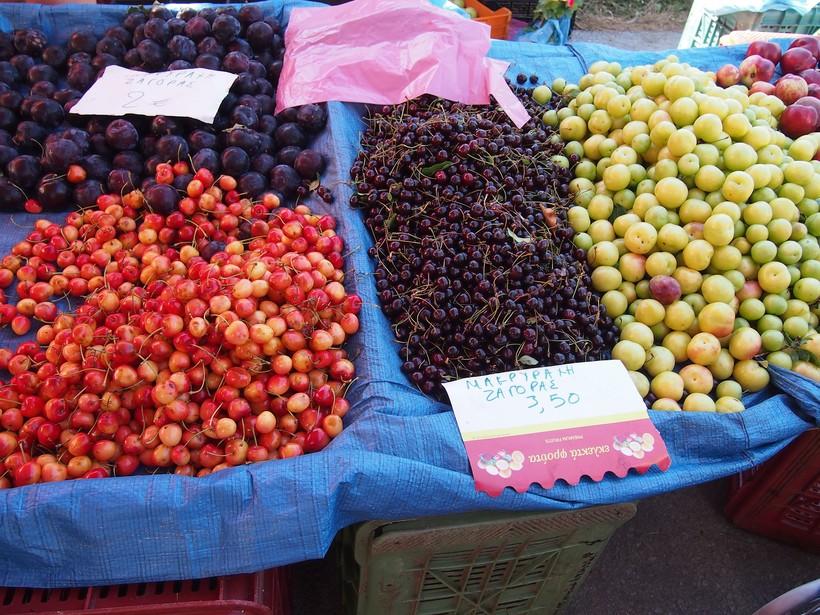 Фермерский рынок на Родосе
