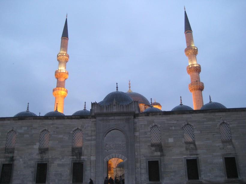 Стамбул в январе - совсем не пляжный город