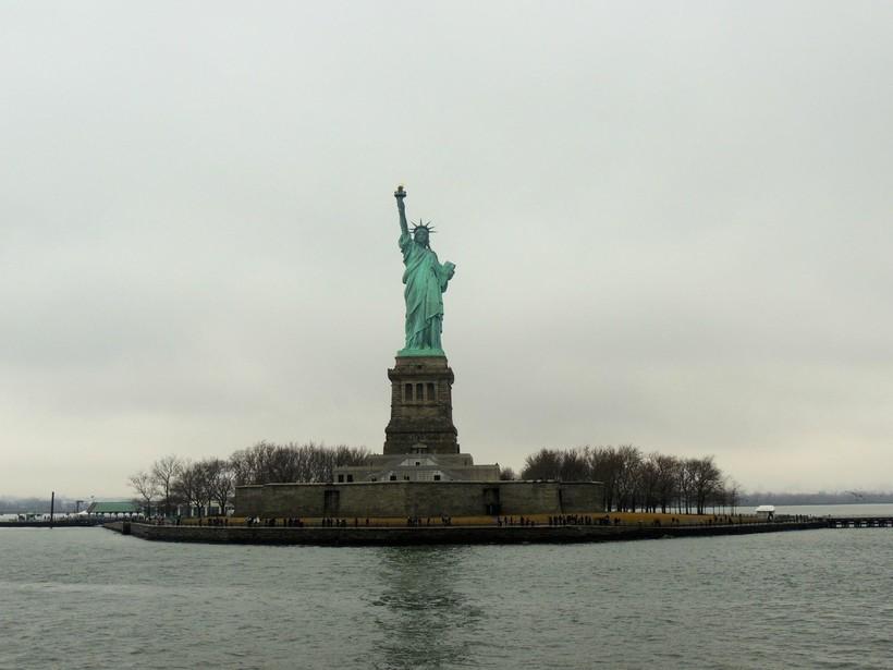 Статуя Свободы, Нью-Йорк 2017