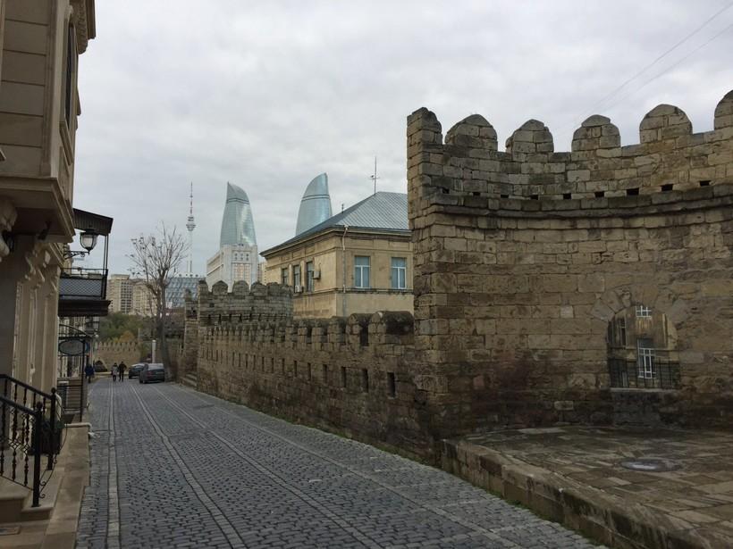 Старый город, декабрь 2017