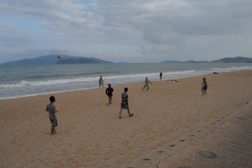 Центральный пляж в Нячанге