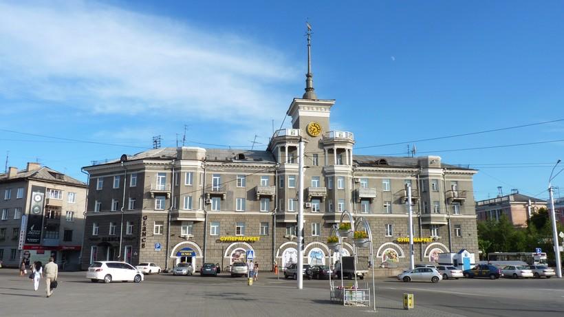 Центральная площадь Барнаула