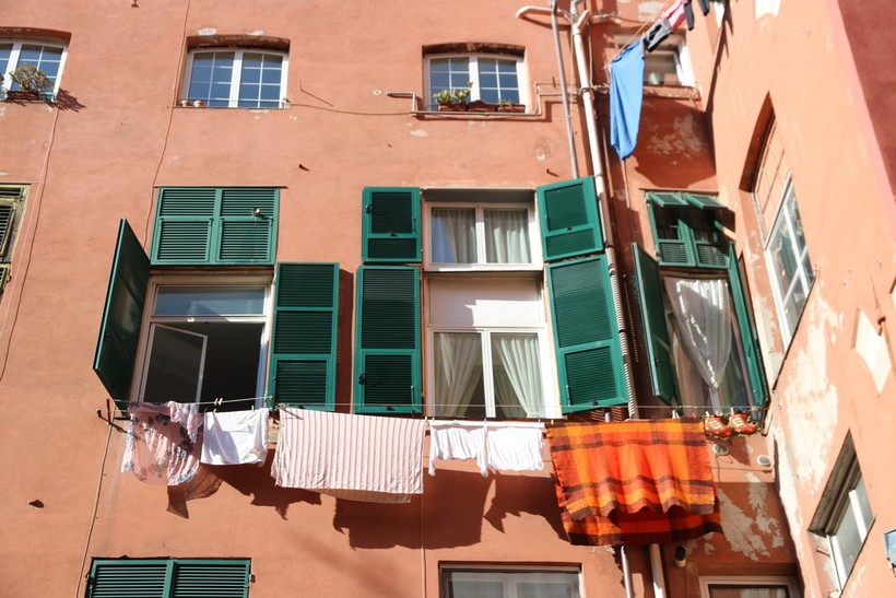 Двор в лабиринтах Via Cannetto Il Lungo