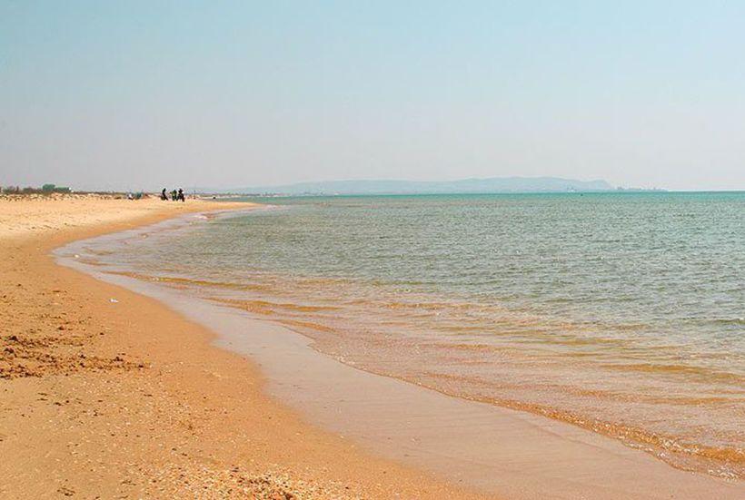 Море в мае в Витязево