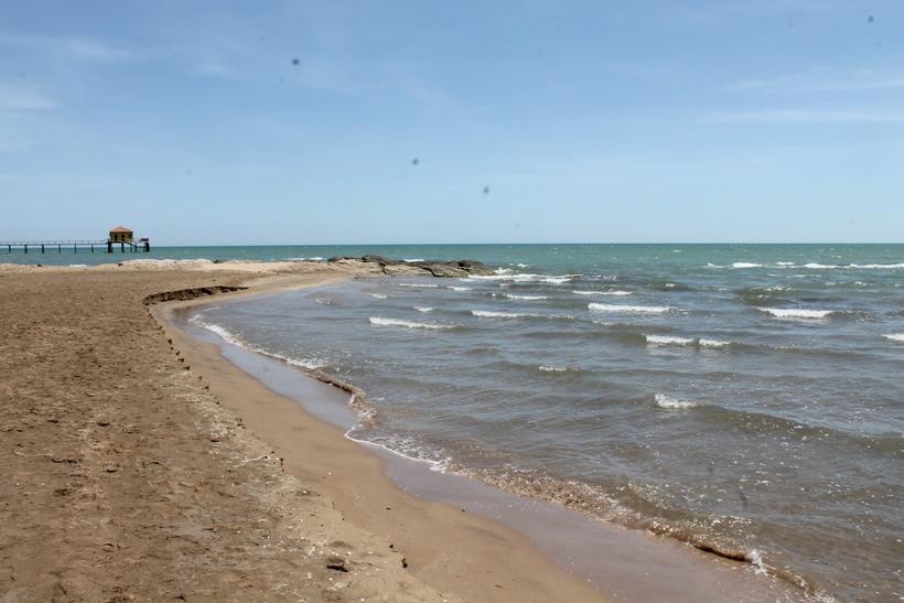 Каспийское море в августе