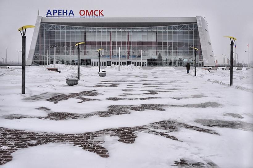 """Крытый каток """"Арена-Омск"""""""