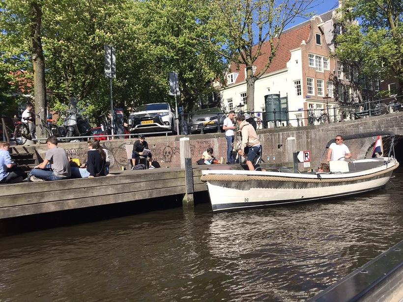 Амстердам: прогулка по каналам