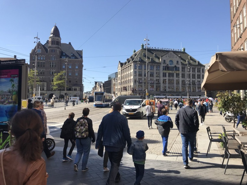 Амстердам: знакомство с улицами города