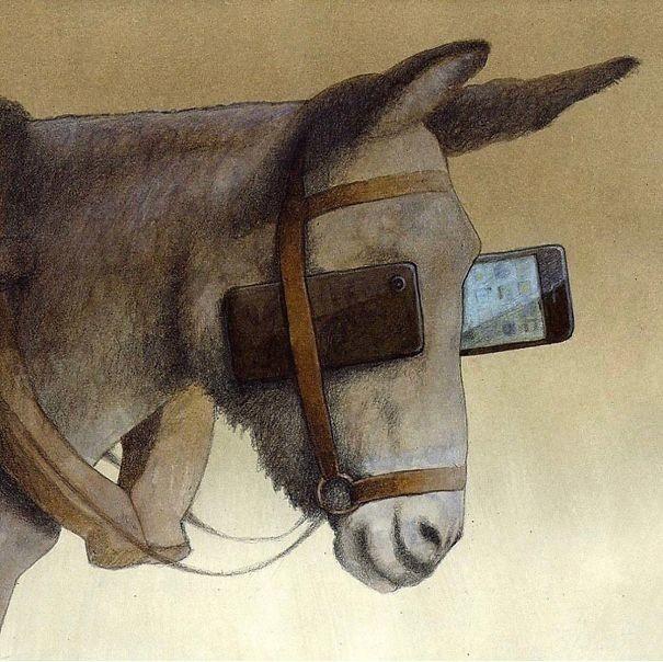 25 откровенных и жестких иллюстраций Павла Кучинского о проблемах нашего общества