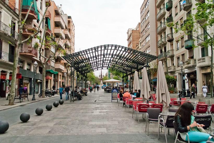Барселона, улицы города