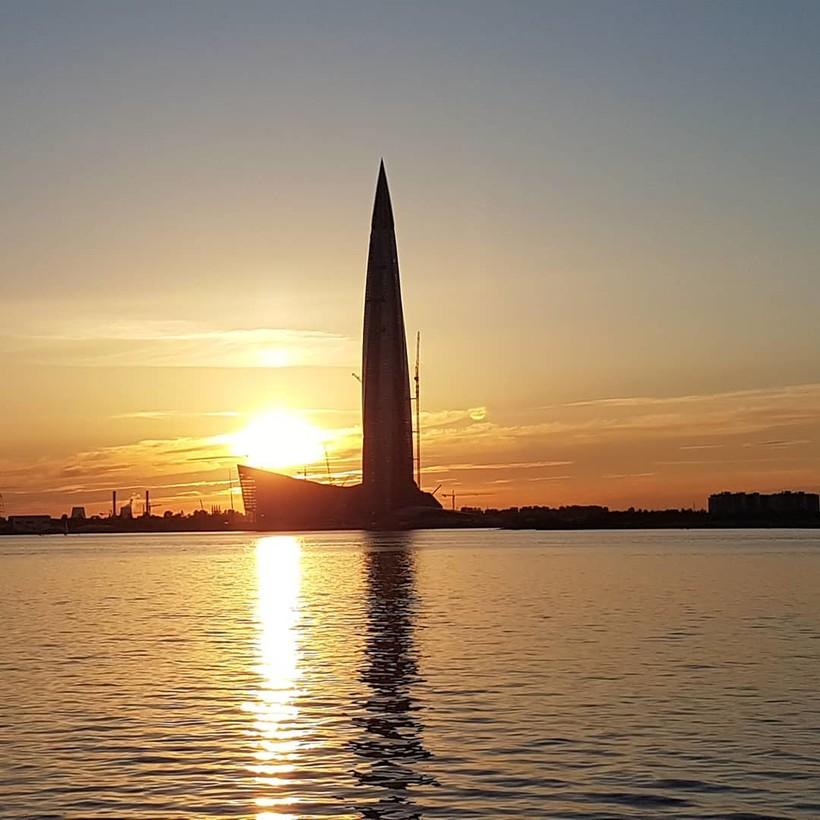 Санкт-Петербургская кукуруза, т.е. Газпром сити