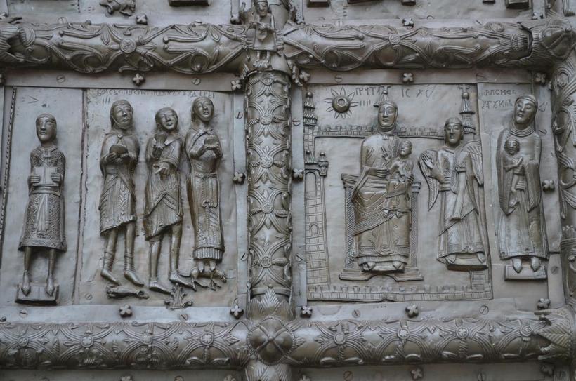 Магдебургские врата были привезены в Новгород как военный трофей