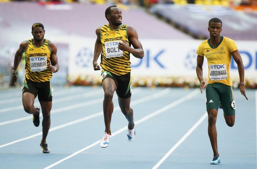 Самый быстрый человек в мире – Усэйн Сент-Лео Болт