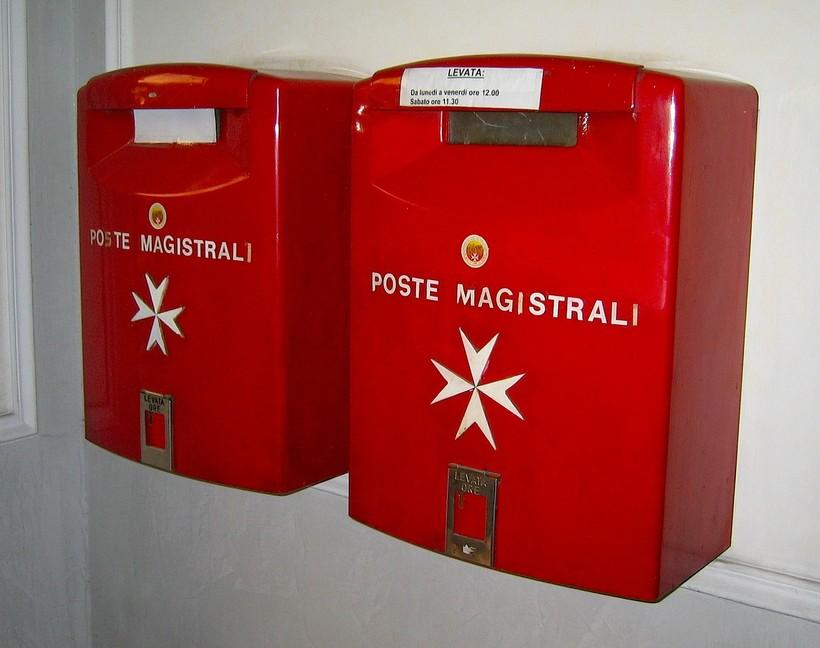Почта Мальтийского Ордена