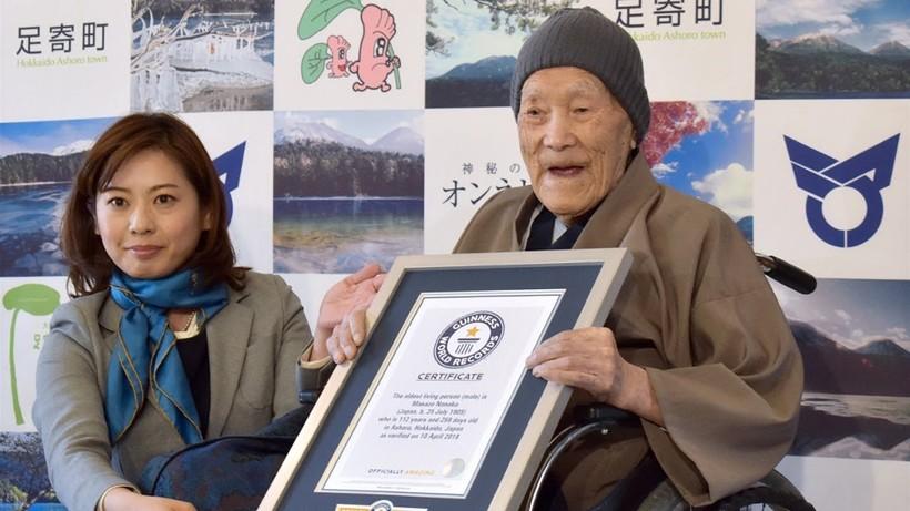 Самый старый человек в мире фото