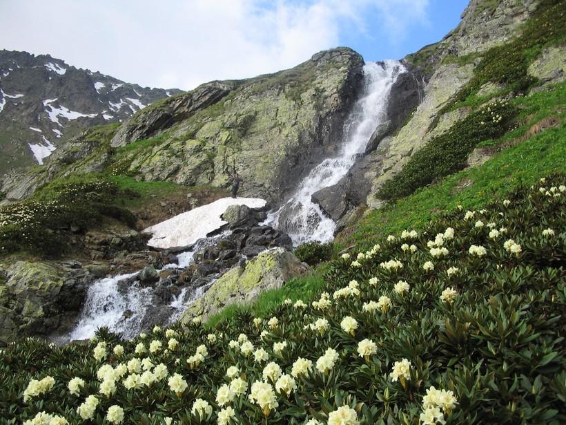 Горы и реки Абхазии