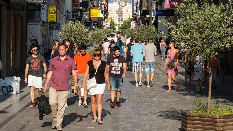 Прогулка по улице Эрму