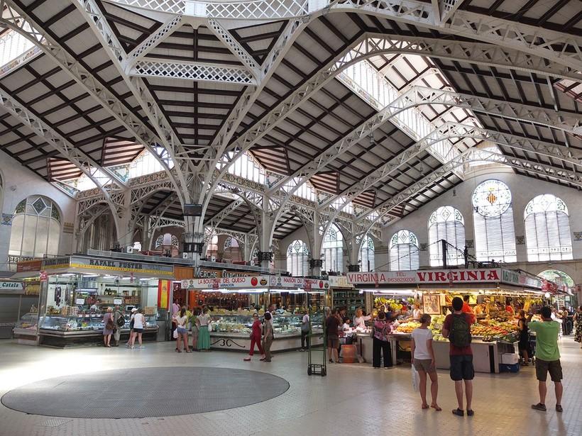 Валенсия, прогулка по Центральному рынку