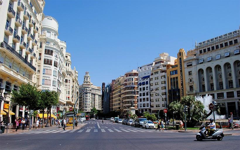 Валенсия, центральная часть города