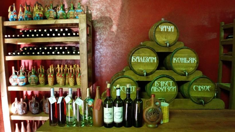 Дегустация абхазских напитков