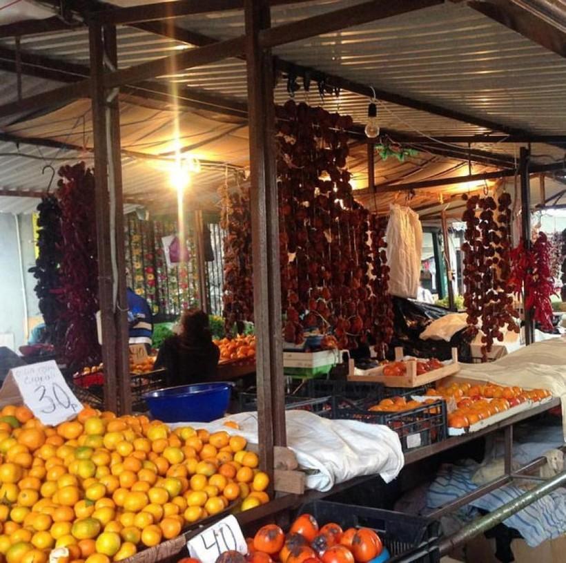 Центральный рынок, ул. Ардзинба, Сухум