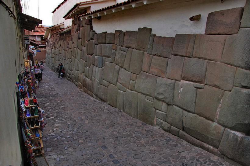Одна из улиц в городе Куско
