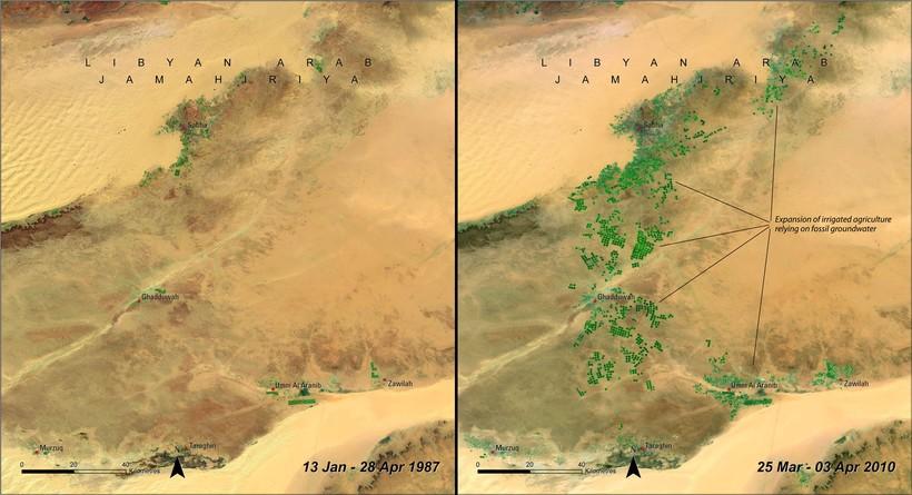 Под пустыней Сахара находятся самые крупные запасы подземной пресной воды в мире