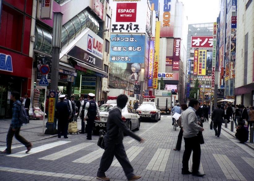 Токио днем