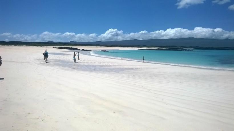 Пляж на Галапагосских островах