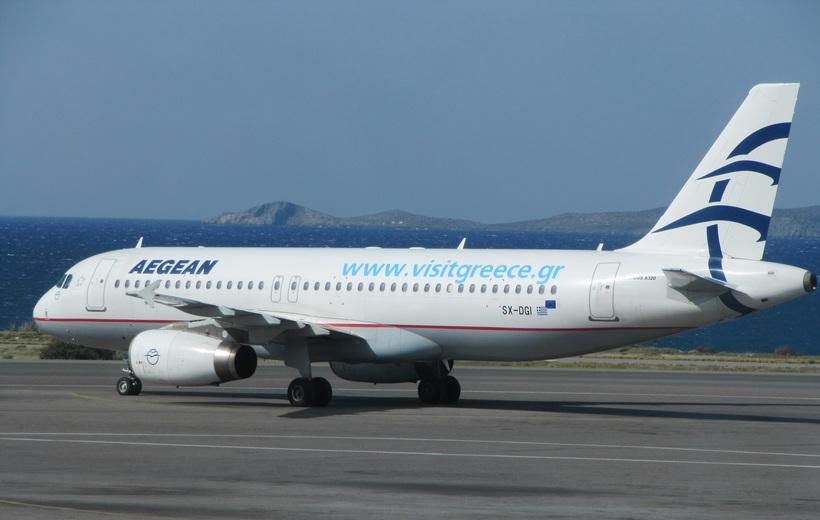 Эгейские авиалинии, Греция, Родос