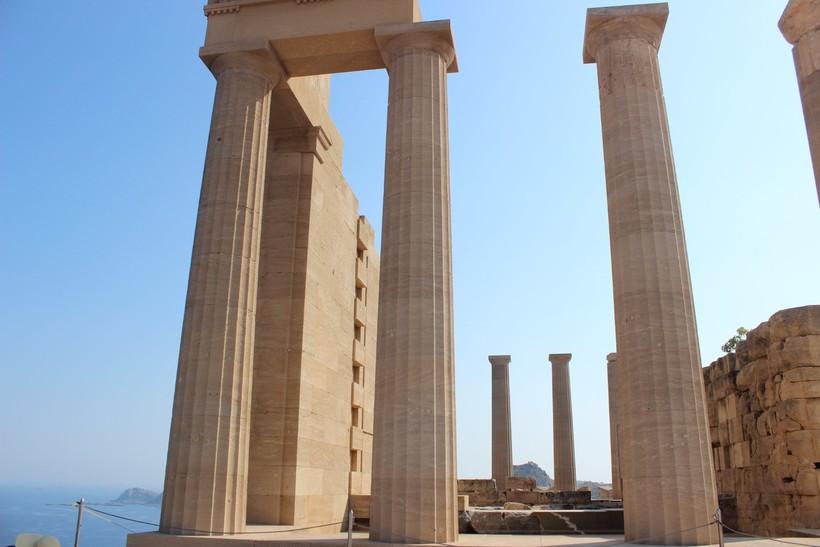 Достопримечательности Родоса: Акрополь