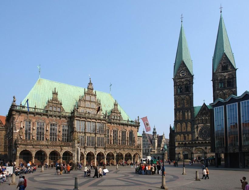 Бременская ратуша на рыночной площади