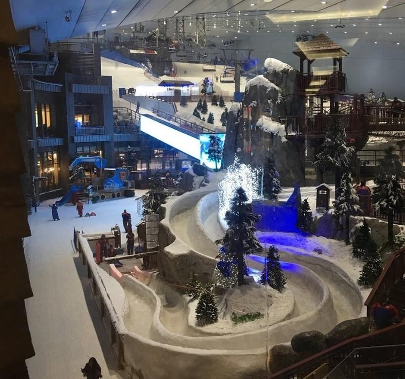 """В ОАЭ есть своя """"зима""""!"""