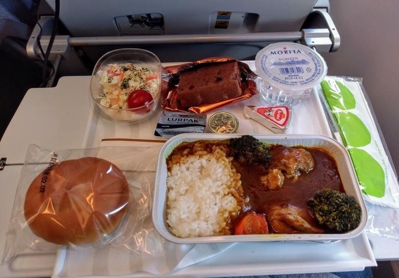 питание на борту авиакомпании FinnAir