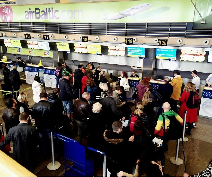 Главный аэропорт Риги