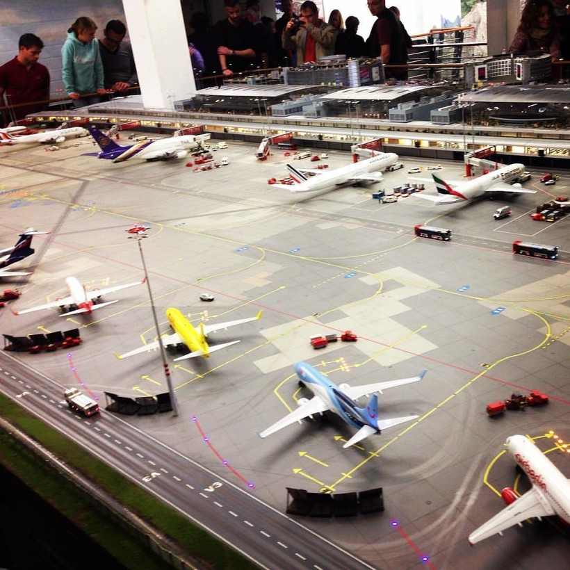 Аэропорт имени Гельмута Шмидта в Гамбурге