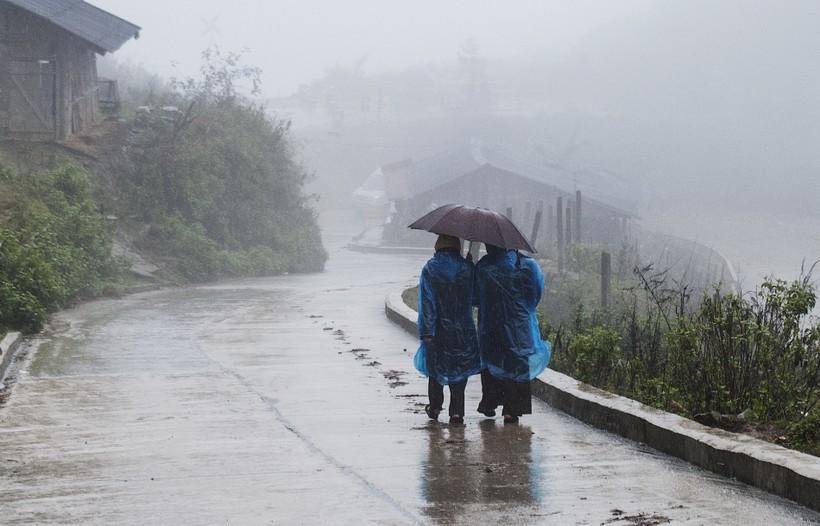 Сезон дождей во Вьетнаме.
