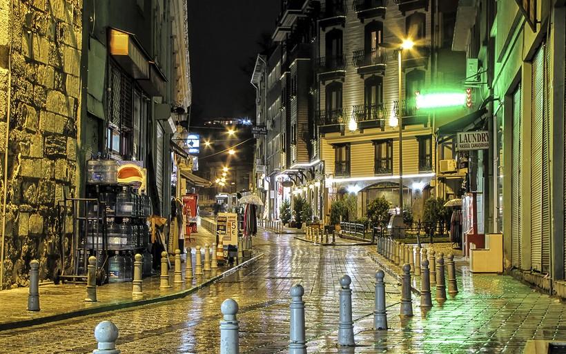 Стамбул: прогулка по ночному городу!
