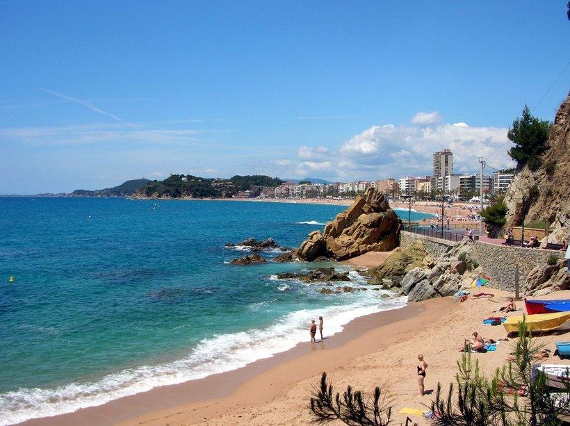 Пляжный курорт Малага