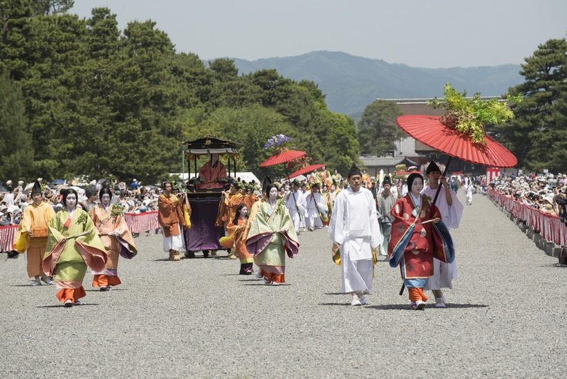 Аой-мацури в Киото (Япония, май 2017)